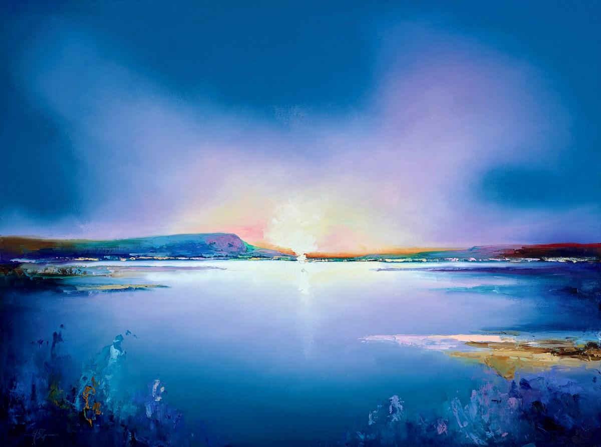 Tranquil Blue Sea